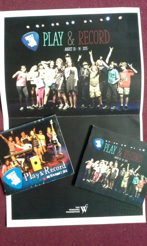 P&R CDs / poster